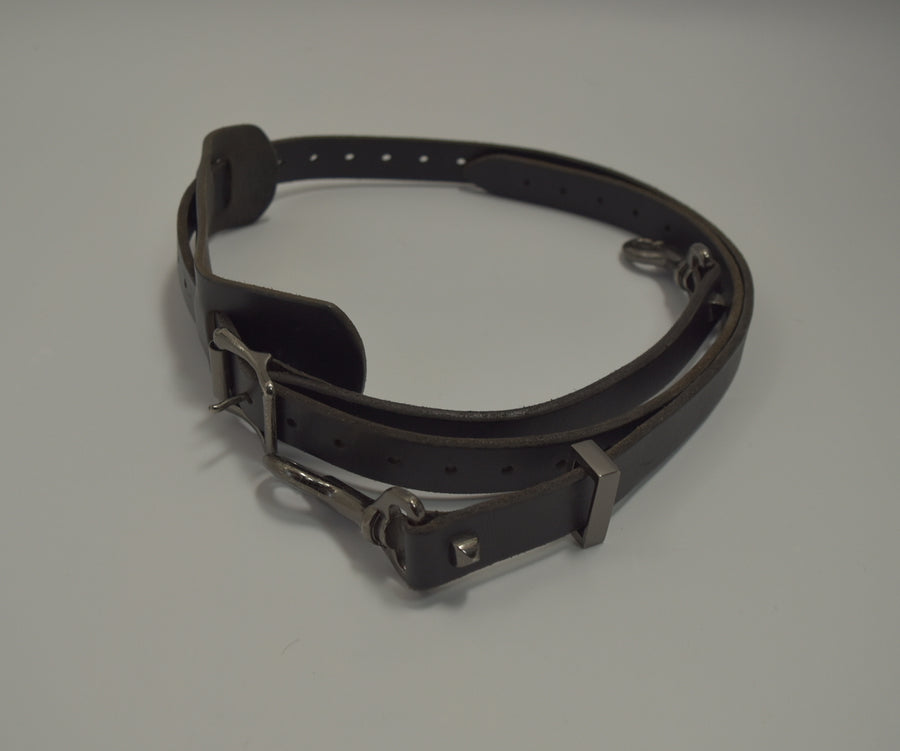 NUMBERNINE / × JAM HOME MADE Leather Punk Belt / 7784 - 0522 88.86