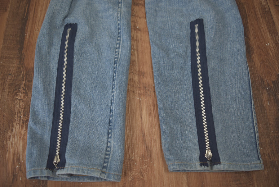 NUMBERNINE / Rebuild Bondage Denim Pants / 7799 - 0524 98.826
