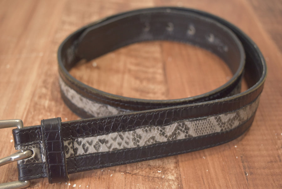 NEPENTHES / Pyson Leather Belt / 7804 - 0524 56.3