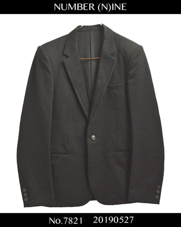 NUMBERNINE / Piping Tailored Jacket / 7821 - 0527 113.412