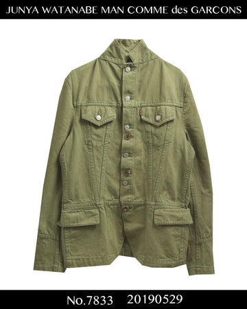JUNYA WATANABE MAN COMME des GARCONS / × Levi's Transform Tailored Jacket / 7833 - 0529 94.8