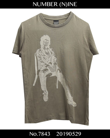 NUMBERNINE / Musician Skull T-shirt / 7843 - 0529 53