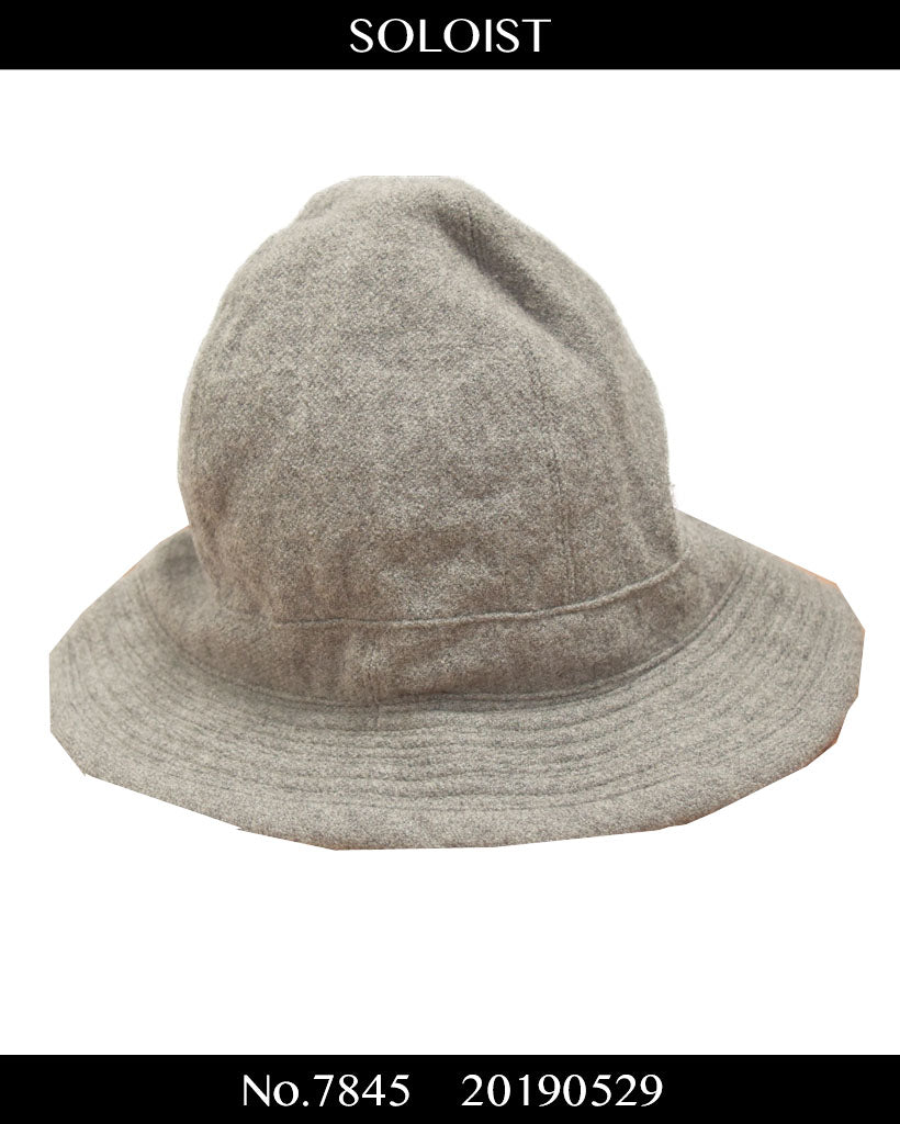 SOLOIST / Grey Bucket Hat / 7845 - 0529 62.9