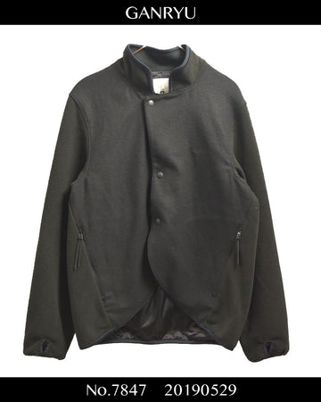 GANRYU / Fleece Tailored Jacket / 7847 - 0529 135.5