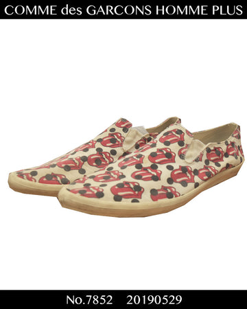 COMME des GARCONS HOMME PLUS / The Rolling Stones Slip-on Sneaker / 7852 - 0529 97