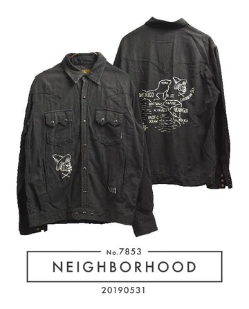 NEIGHBORHOOD / Mexican Graphic Levi's Shirt Jacket / 7853 - 0531 60.7