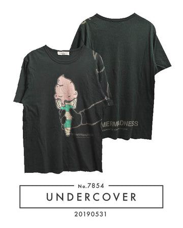 UNDERCOVER / × COMME des GARCONS 《 SUMMER MADNESS 》Softcream T-shirt / 7854 - 0531 86.11
