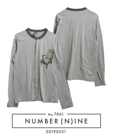 NUMBERNINE / Furniture Cutsew Cardigan / 7861 - 0531 58.5