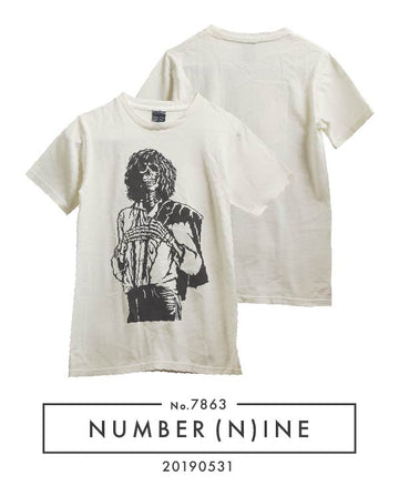 NUMBERNINE / Patti Smith Skull T-shirt / 7863 - 0531 58.5
