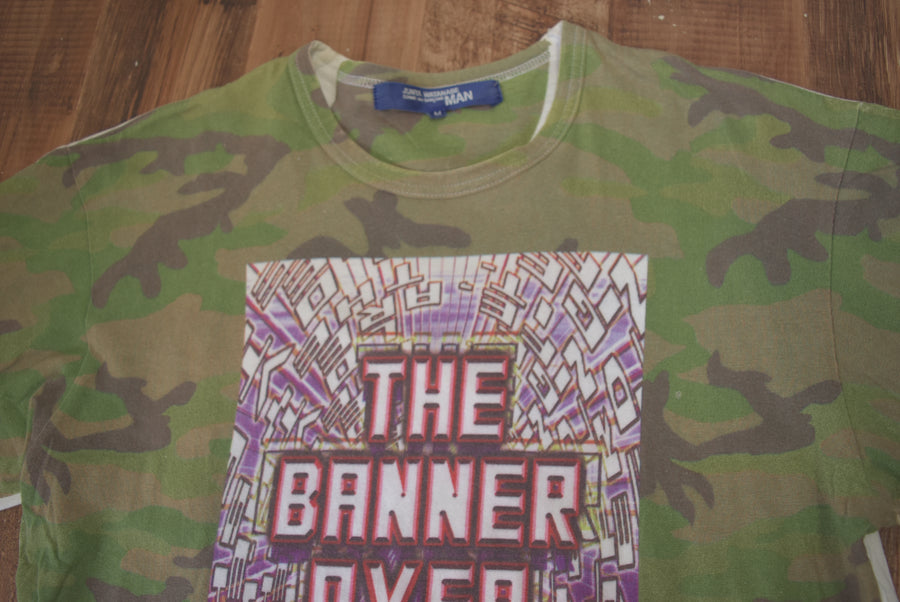 JUNYA WATANABE MAN COMME des GARCONS / Cyber Military Camo T-shirt / 7865 - 0531 53