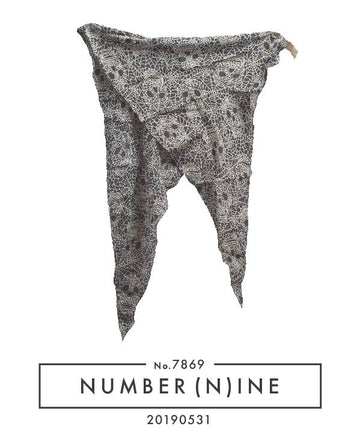 NUMBERNINE / 《Night Clawer》 Spider Skull Scarf / 7869 - 0531 51.9