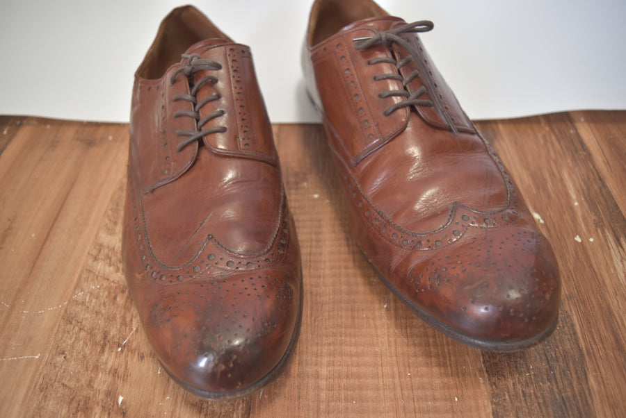 NUMBERNINE / Wingtip Leather Shoes / 7871 - 0531 71.81