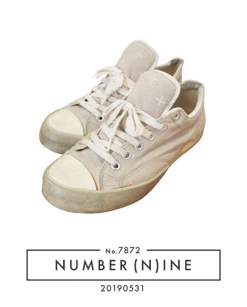 NUMBERNINE / Cross Low-cut Sneaker / 7872 - 0531 61.58