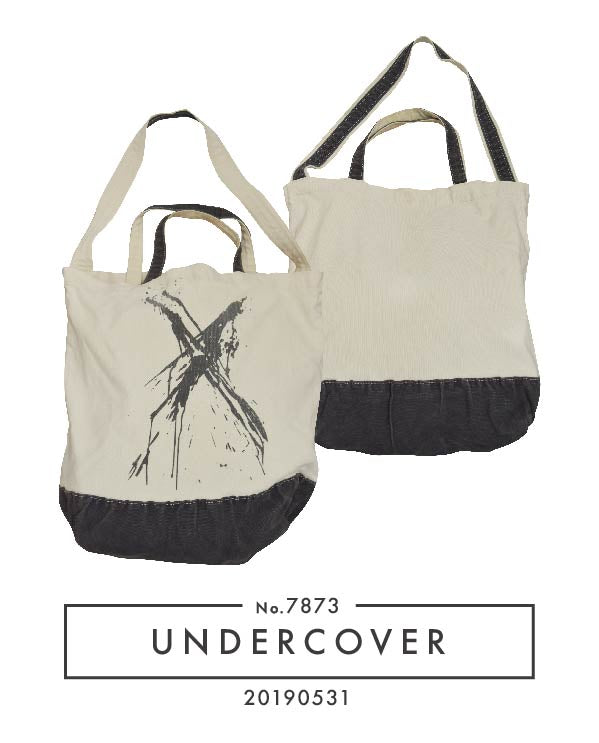 UNDERCOVER / Painting Shoulder Tote Bag / 7873 - 0531 80.61