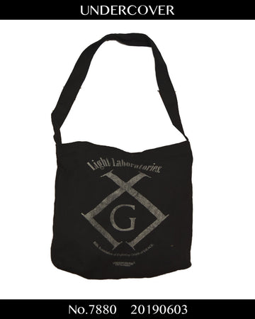 UNDERCOVER / GILA Logo Shoulder Bag / 7880 - 0603 34.41