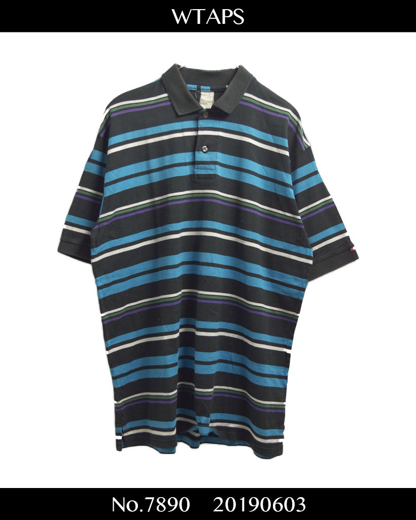 WTAPS / Sporty Border Polo Shirt / 7890 - 0603 53