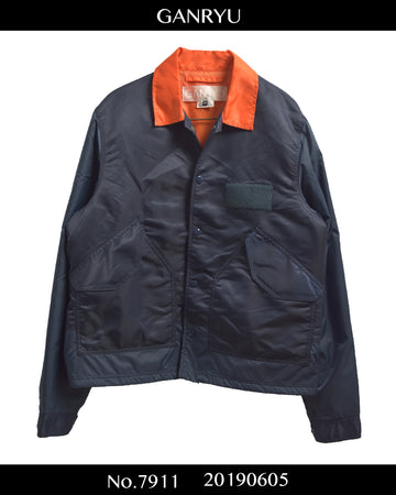 GANRYU / MA-1 Military Coach Jacket / 7911 - 0605 157.5
