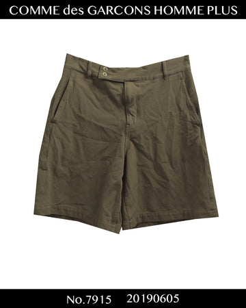 COMME des GARCONS HOMME PLUS / Pathwork Pocket Short Pants / 7915 - 0605 95.9