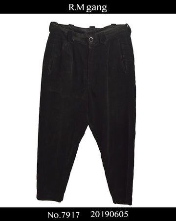 R.M gang / Velour Wide Pants / 7917 - 0605 93.7