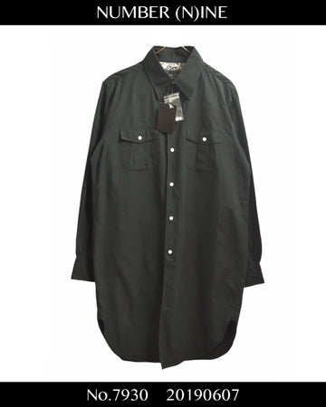 NUMBERNINE / Pocket Long Shirt / 7930 - 0607 67.3