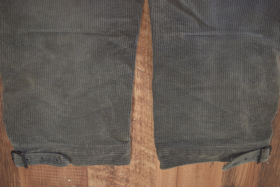 NUMBERNINE / Western Corduroy Pants / 7936 - 0607 75.715