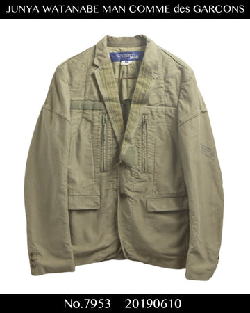 JUNYA WATANABE MAN COMME des GARCONS / Artisan Rebuild Military Tailored Jacket / 7953 - 0610 201.5