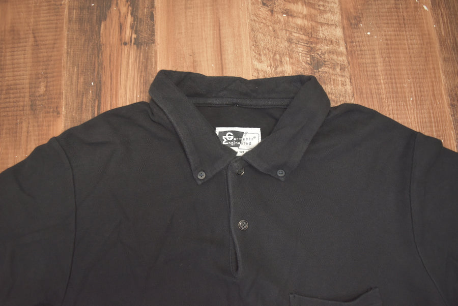 Engineered Garments / Jersey Polo Shirt / 7970 - 0612 47.5