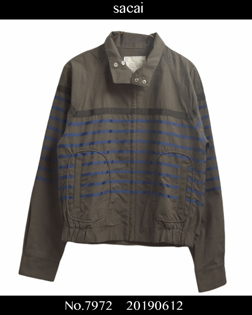 sacai / Border Swing Top / 7972 - 0612 102.72