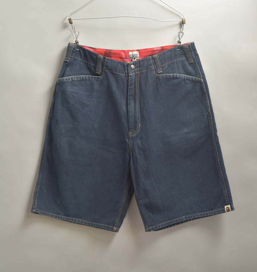 BAPE / Denim Short Pants / 7979 - 0612 43.32