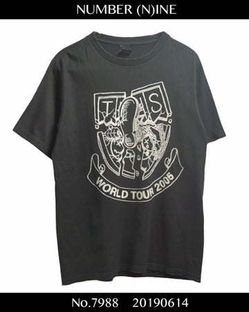 NUMBERNINE / 《 The High Streets 》 Band Tour T-shirt / 7988 - 0614 56.3