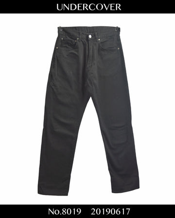 UNDERCOVER / Black Denim Pants / 8019 - 0617 69.5