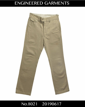 Engineered Garments / Work Chino Pants / 8021 - 0617 47.5