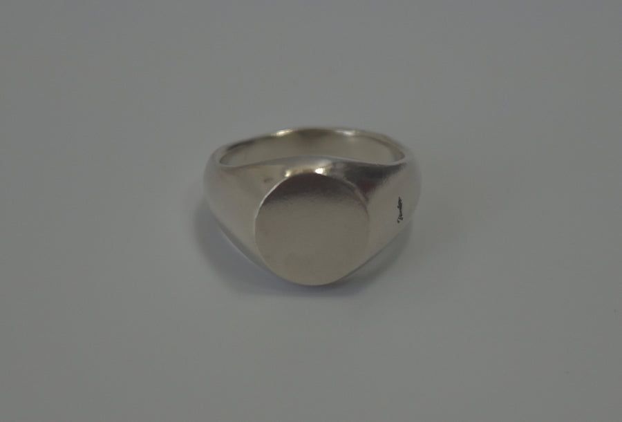 NUMBERNINE / 《 TIME MIGRATION 》 Skull Silver Ring / 8025 - 0617 73.9