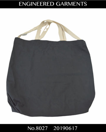 Engineered Garments / Cotton Shoulder Tote Bag / 8027 - 0617 67.3