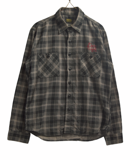 TENDERLOIN / ×RATS Nel Check Shirt / 8029 - 0619 56.3