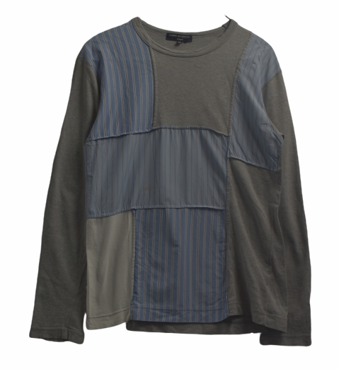 COMME des GARCONS HOMME / Patchwork Strype Shirt / 8035 - 0619 64