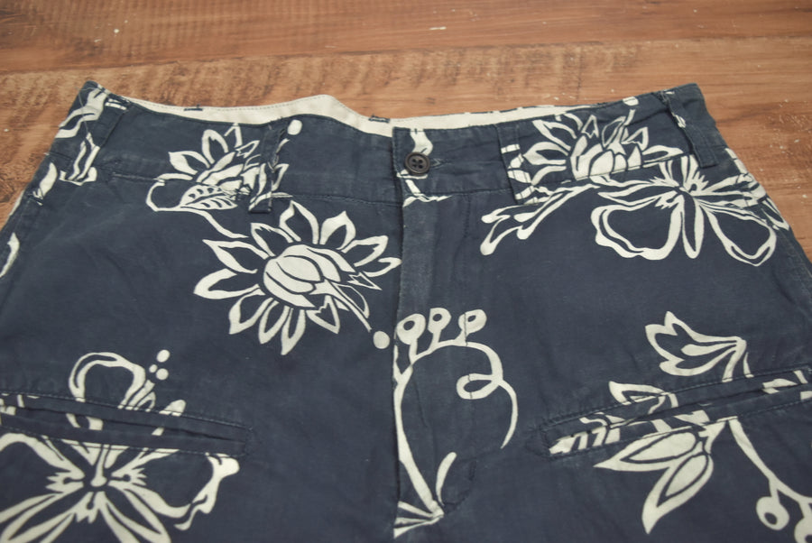 Engineered Garments / Flower Print Short Pants / 8041 - 0619 75
