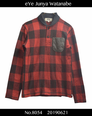 eYe JUNYA WATANABE MAN COMME des GARCONS / Buffalo Check Shirt / 8054 - 0621 53