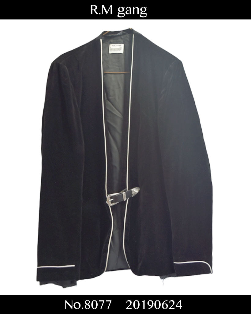 R.M gang / Velour Dinner Jacket / 8077 - 0624 190.5