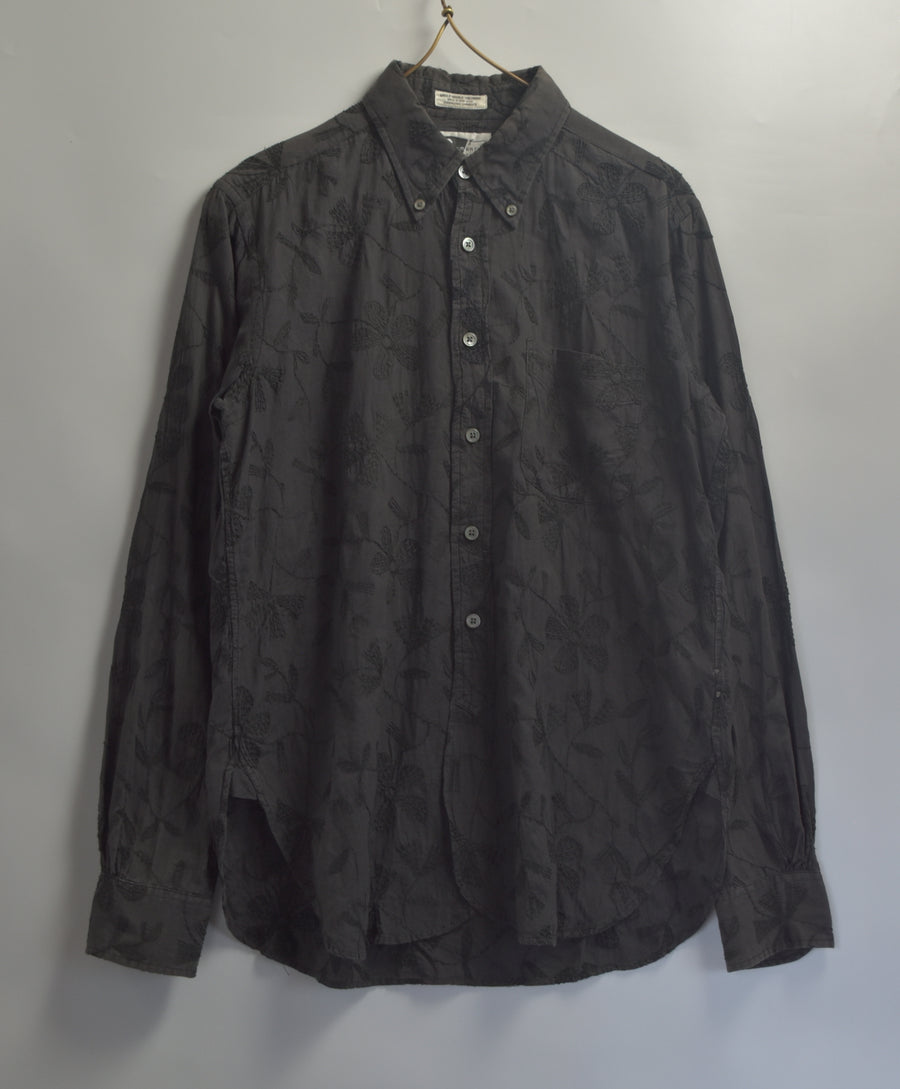 Engineered Garments / Botanical Embroidery Shirt / 8080 - 0624 67.3