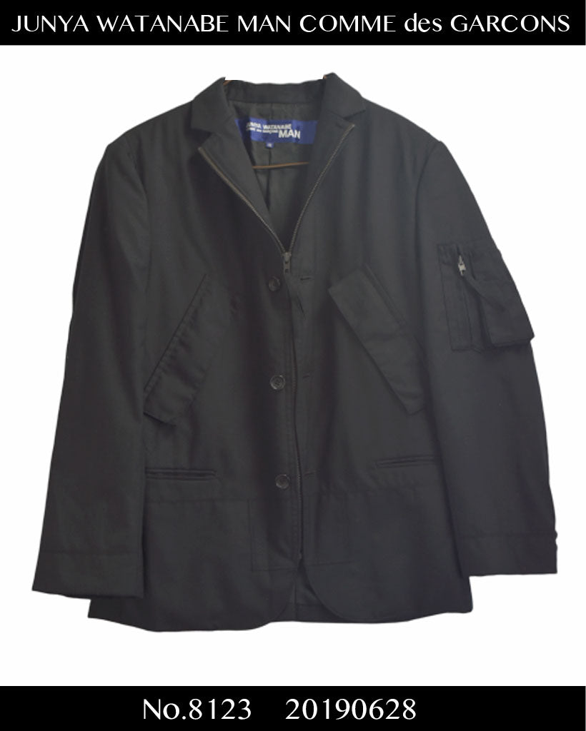 JUNYA WATANABE MAN COMME des GARCONS / Rebuild Military Tailored Jacket / 8123 - 0628 119