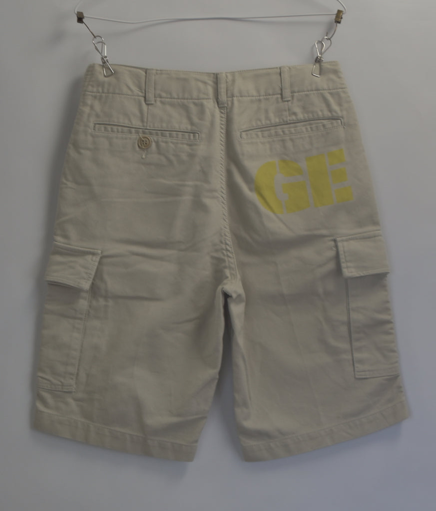 GOOD ENOUGH / Logo Print Cargo Short Pants / 8130 - 0628 64