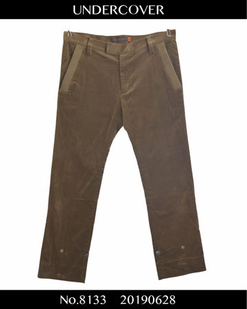 UNDERCOVER / Velour Slacks Pants / 8133 - 0628 69.5