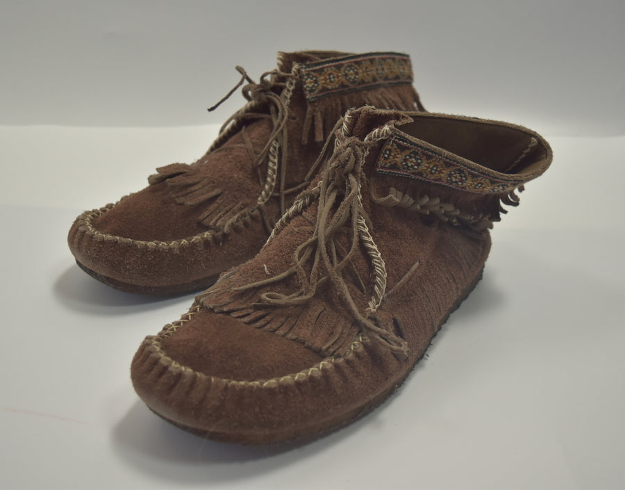 NUMBERNINE / Leather Moccasin Boots / 8224 - 0705 102.5