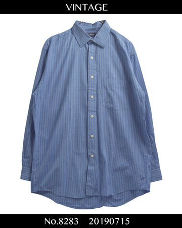 J.CREW / Check Dress Shirt / 8283 - 0715 36.5