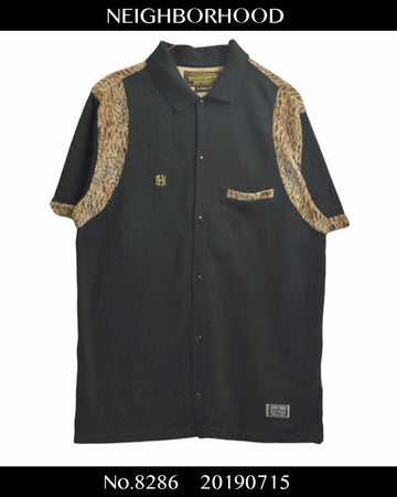 NEIGHBORHOOD / Leopard Bowling Shirt / 8286 - 0715 53