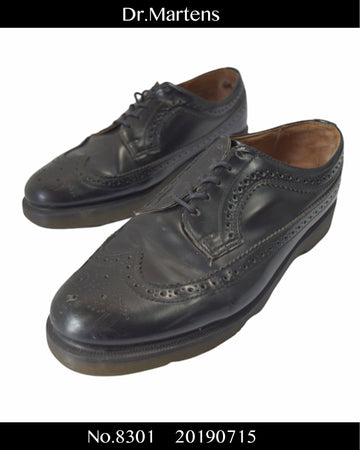 Dr.Martens / Wingtip Leather Shoes / 8301 - 0715 80.5