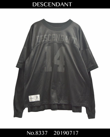 DESCENDANT / Mesh Football Shirt / 8337 - 0717 135.5