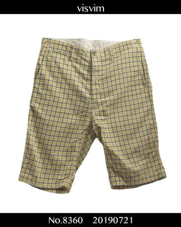 visvim / Check Short Pants / 8360 - 0721 64