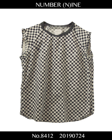 NUMBERNINE / Checker Flag Shirt / 8412 - 0724 42